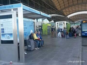 Как добраться в Бенидорм из Аликанте (аэропорта и центра города)