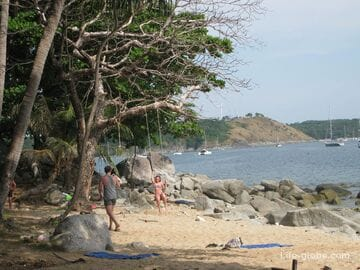 Ao Sane beach in Phuket - lost in the jungle