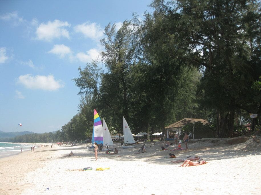 Holidays in Phuket, Bangtao Beach