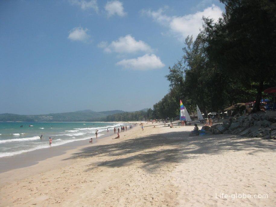 Банг Тао, пляж релакс
