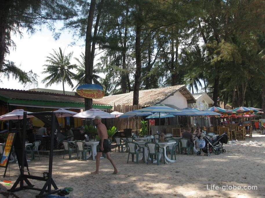 Cafe on Bang Tao Beach
