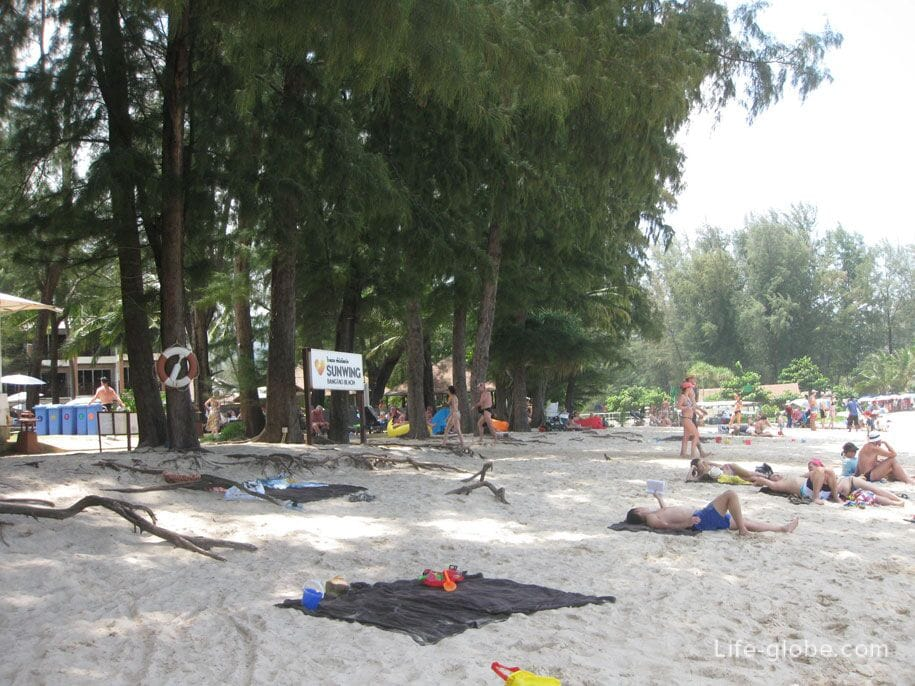 A leisurely holiday in Phuket, Bangtao Beach