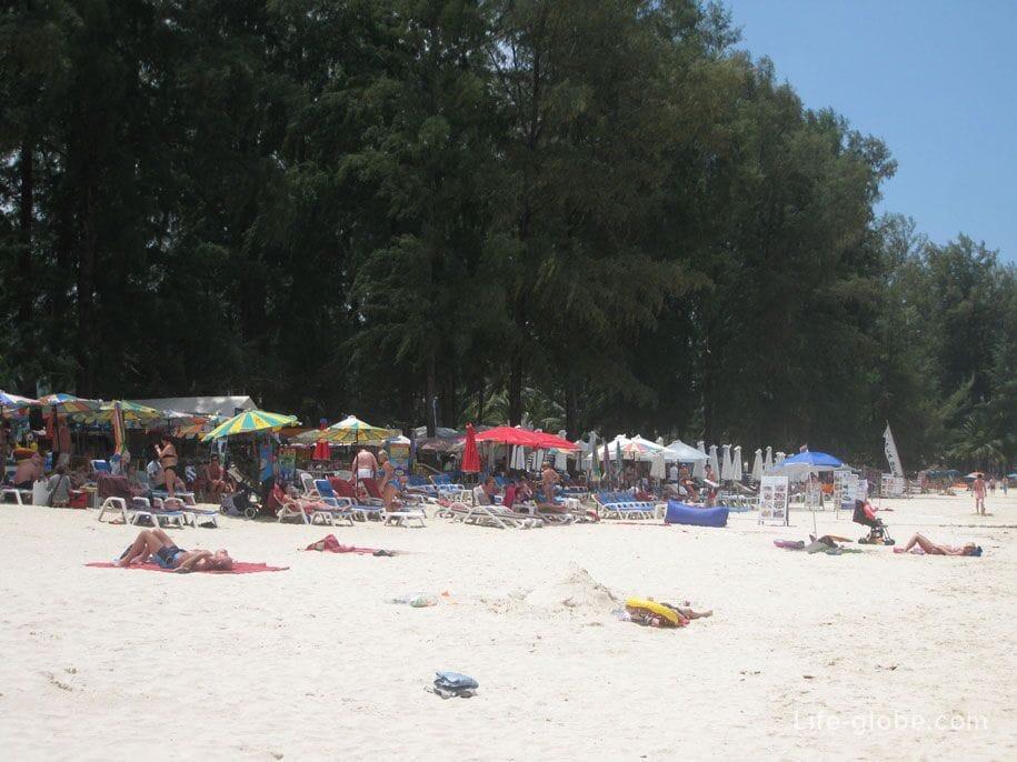 Пляж Банг Тао, остров Пхукет