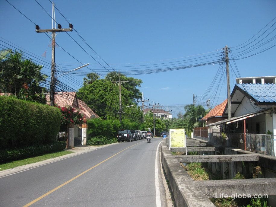 Улицы Бангтао