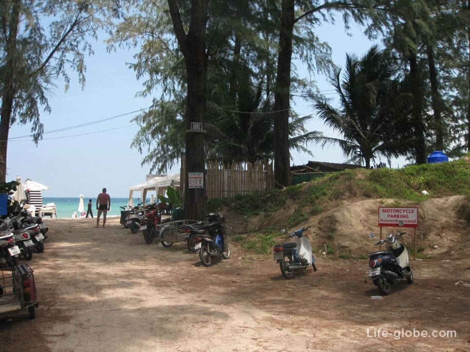 Approaching Bangtao beach, Phuket
