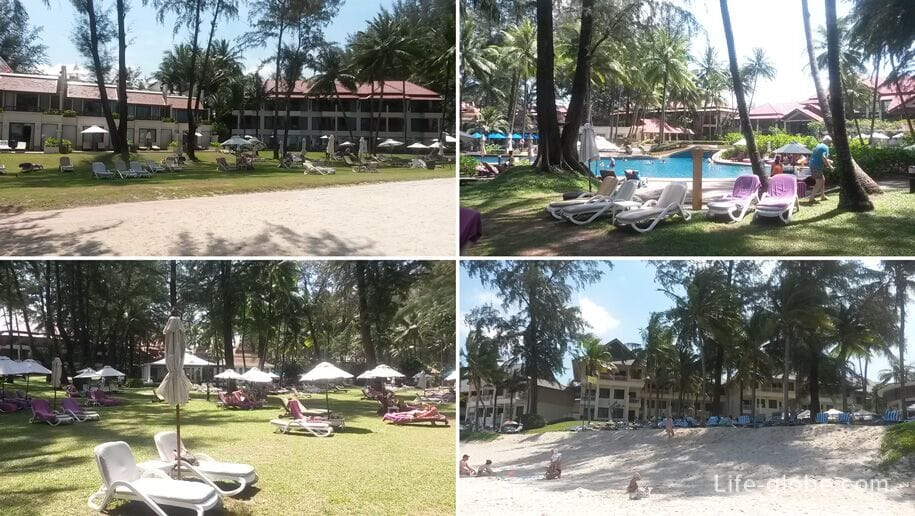 Hotels on Bang Tao Beach