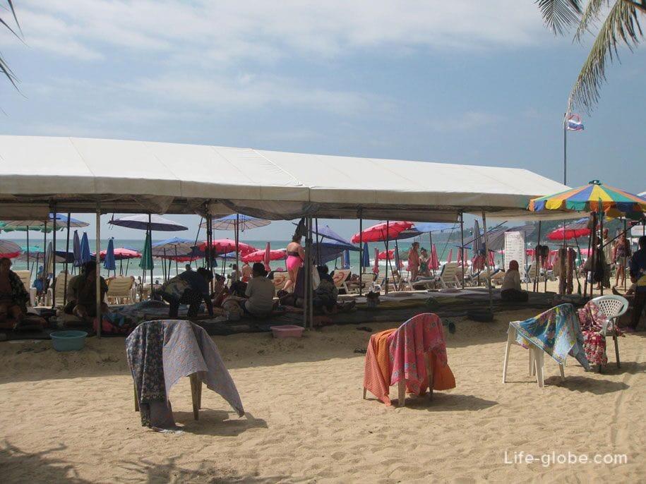 Massage at Kamala Beach, Phuket