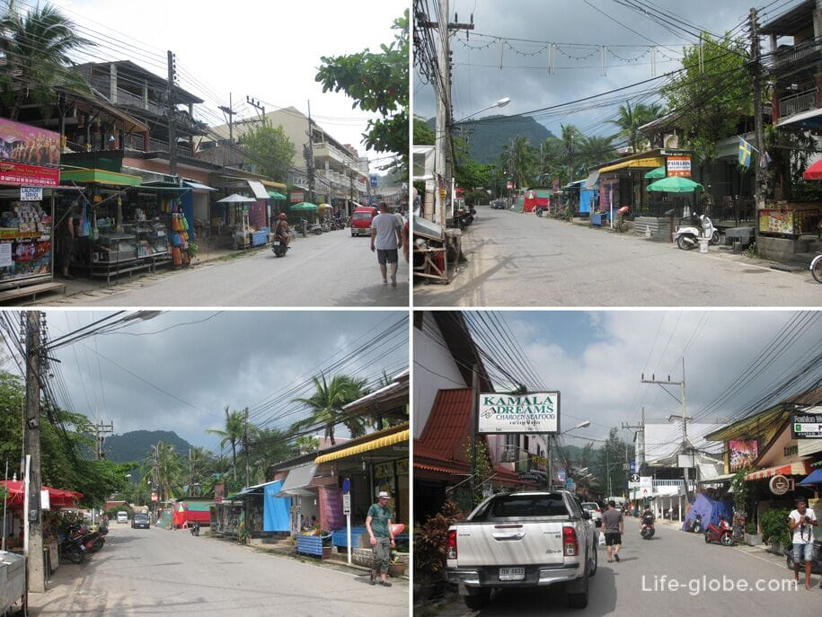 Street Rim Hat Road, Kamala, Phuket