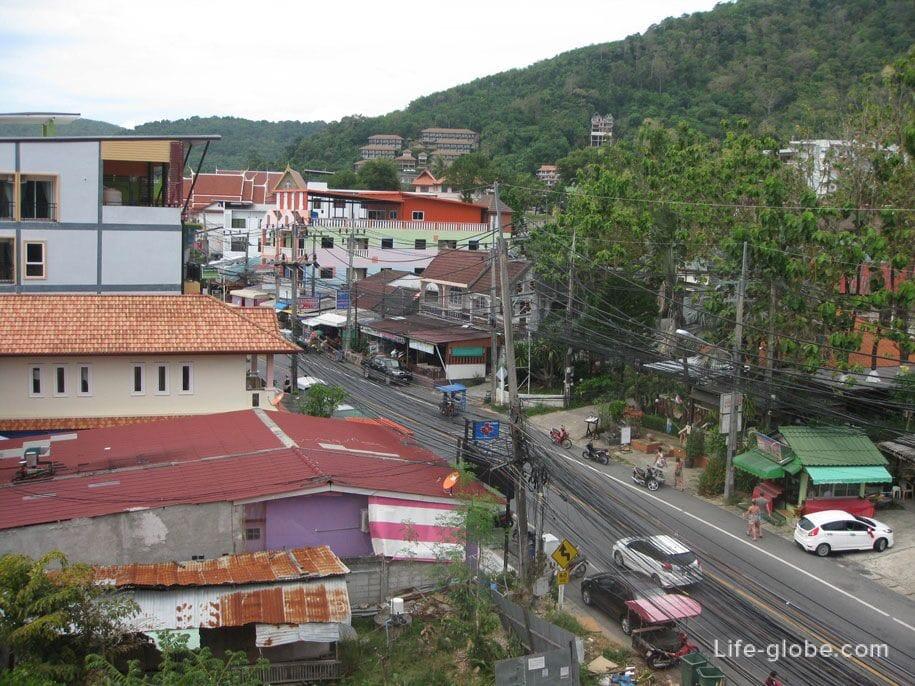 Вид с балкона, отель Karon Sea Side, Пхукет