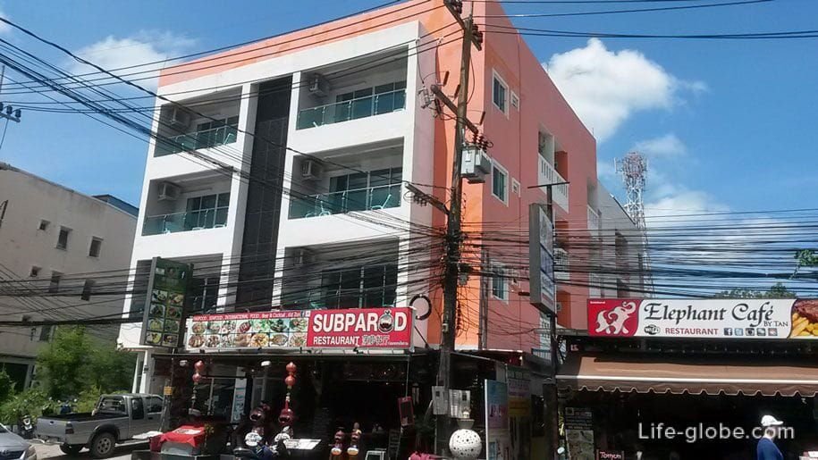 Karon Sea Side Hotel, Karon, Phuket