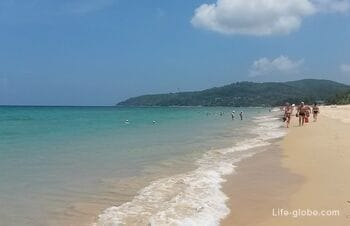 Karon, Phuket: the beach, photo, description, how to get