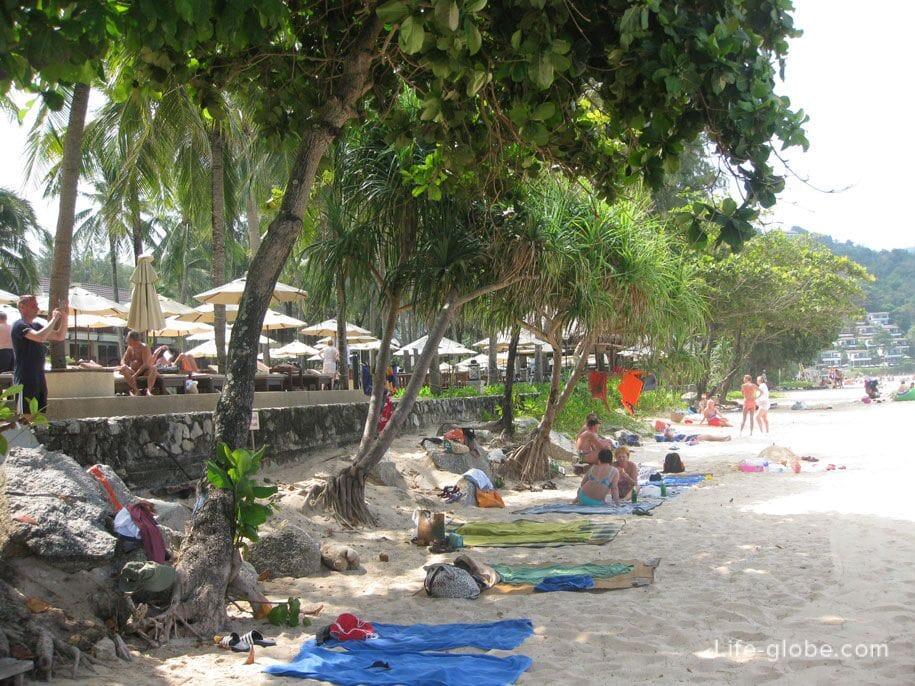 Пляж Ката Ной, остров Пхукет