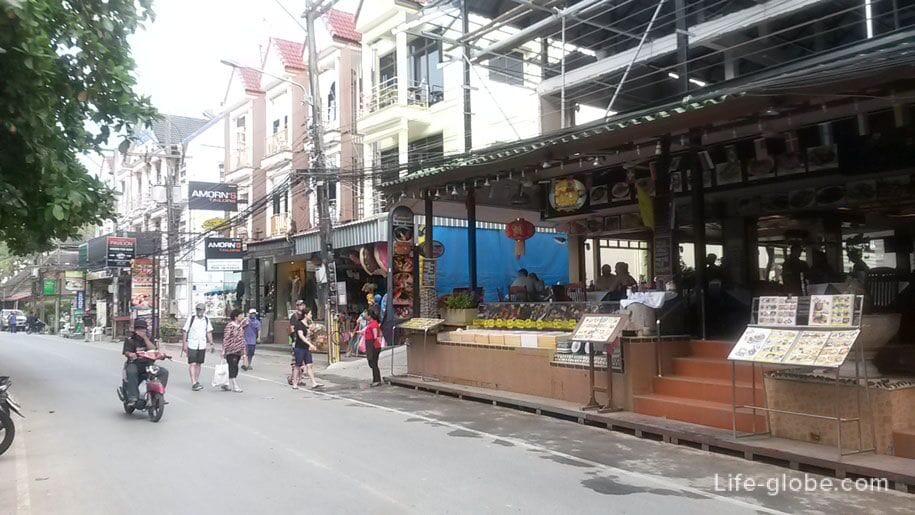 On the streets of Kata Noi