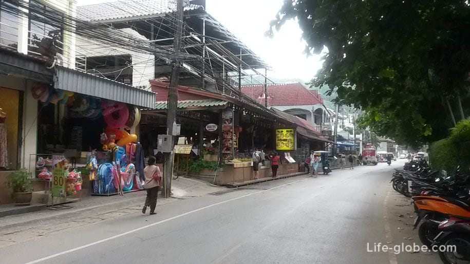 On the streets of Kata Noi, Phuket
