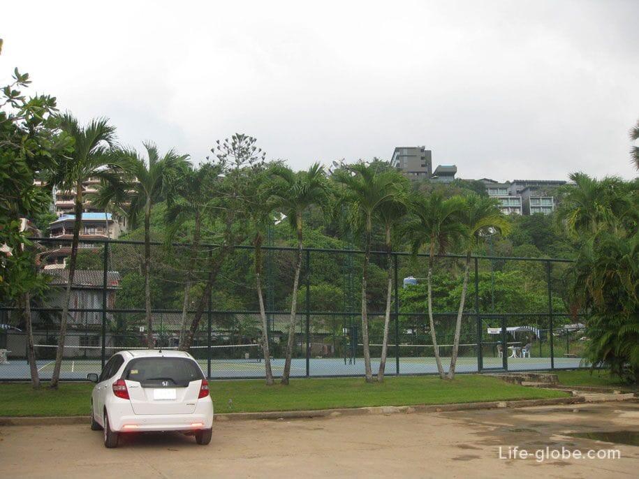 Tennis Courts, Kata Noi, Phuket