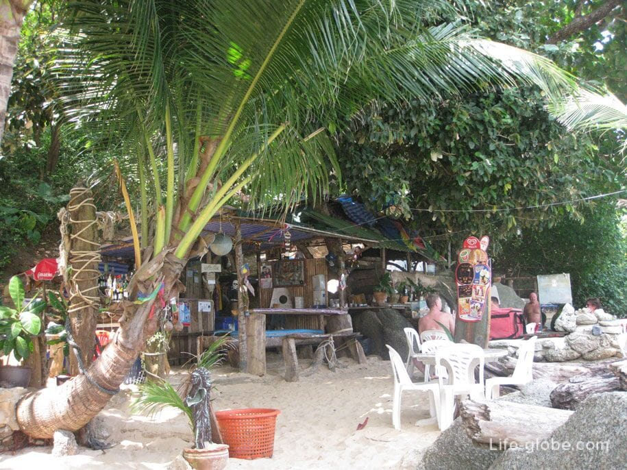 Cafe On the rocks, Kata Noi beach
