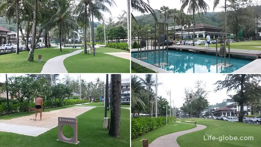 Park and active games in Kata Noi, Phuket