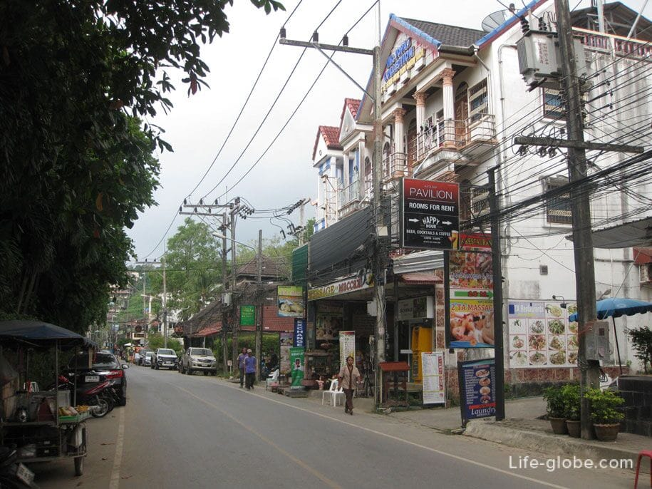 On the streets of Kata Noi, Phuket island