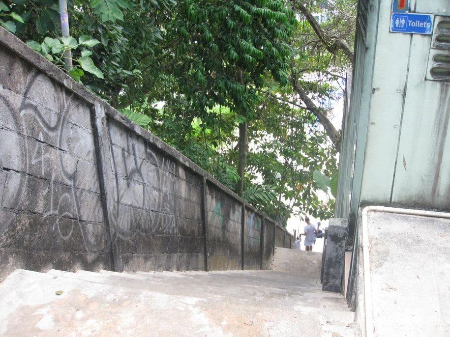 Stairway to Kata Noi Beach