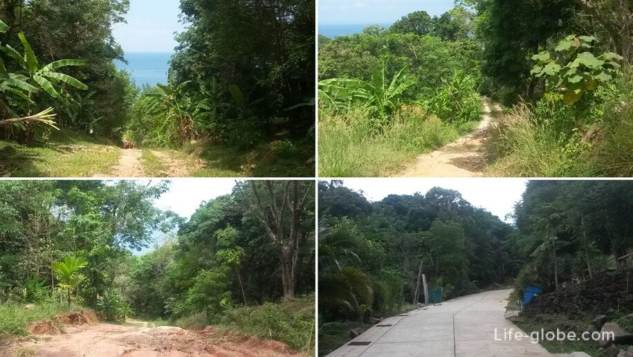 Road from Kata Noi Beach to Karon View Point, Phuket
