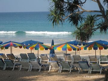 Kata beach in Phuket - lively and tourist