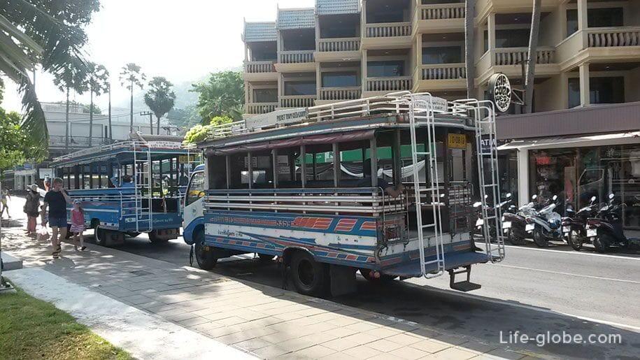 Buses Phuket (songteo)