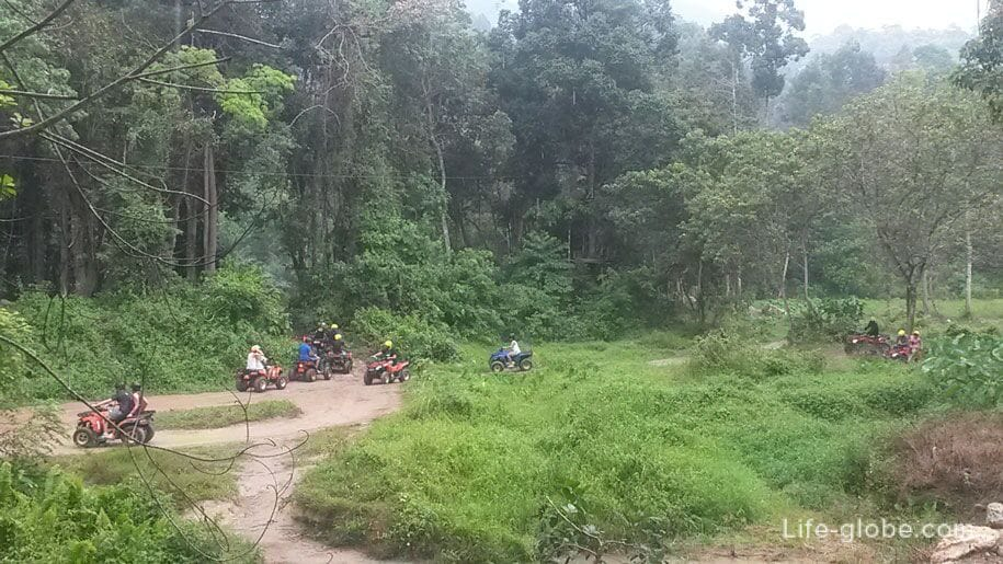 ATV riding in Phuket