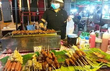 Ночной рынок на Кароне, Пхукет