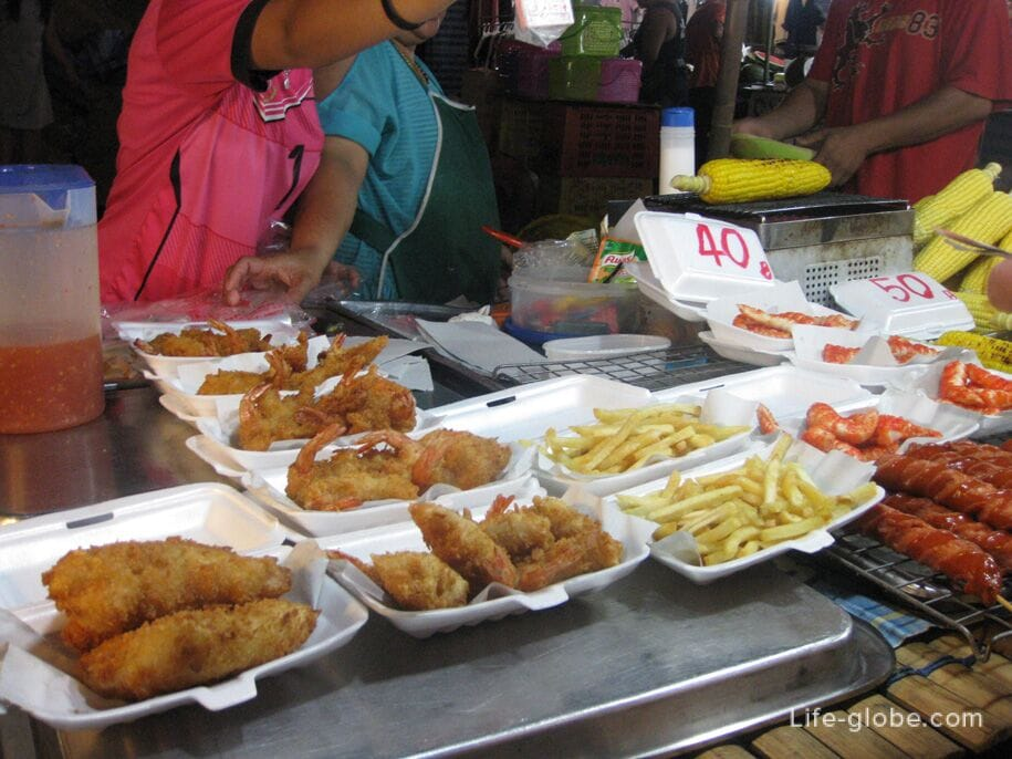 Рынок на Кароне, Таиланд