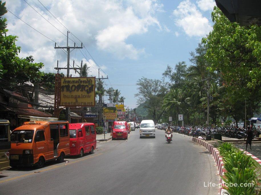 Набережная Патонг, Пхукет, Таиланд