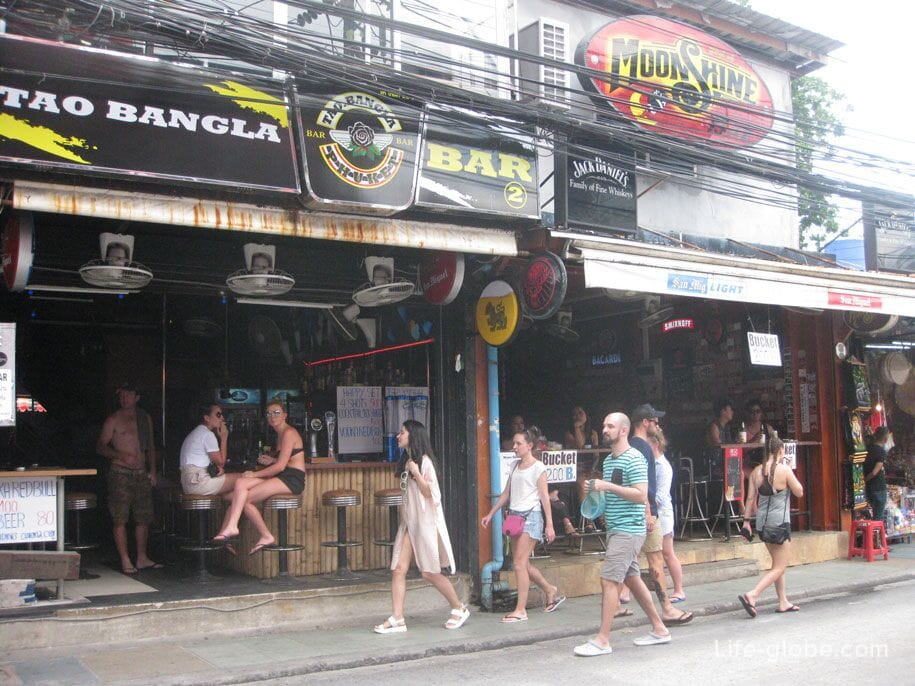 Bars on Bangla Road, Patong