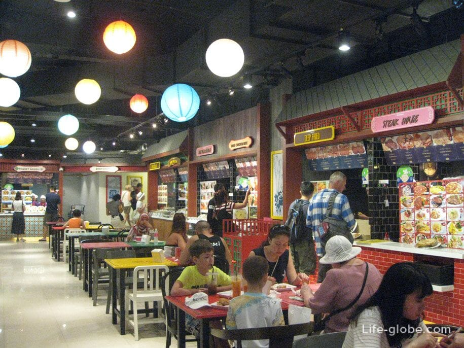 Food Bazaar at Jungceylon Shopping Center, Patong, Phuket