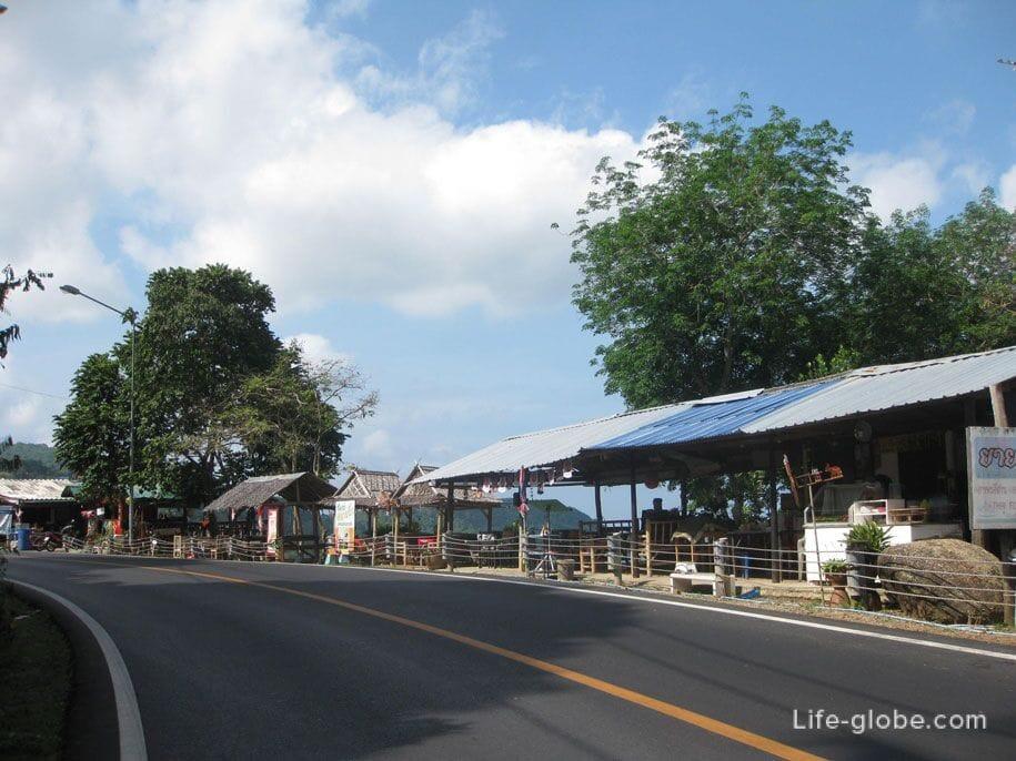 Road to Karon View Point
