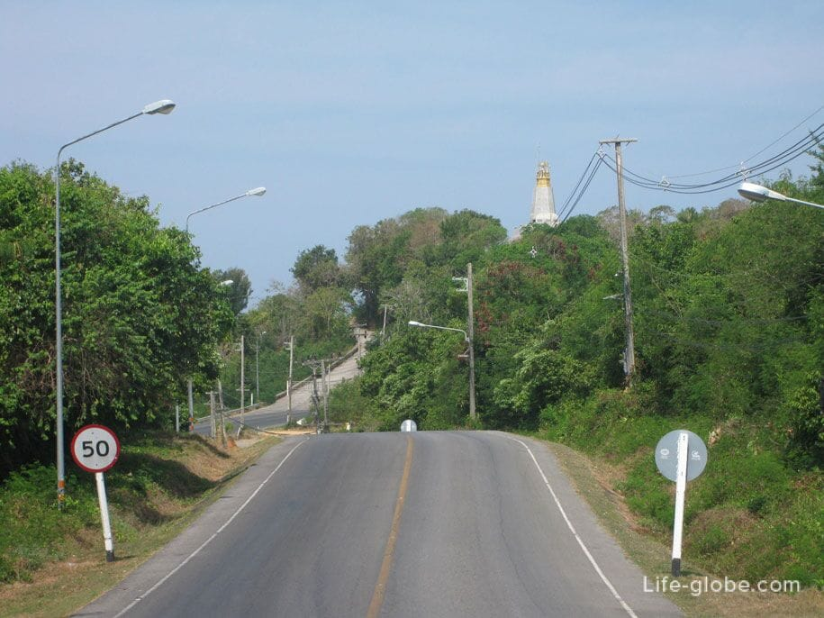 Road to Cape Promtep