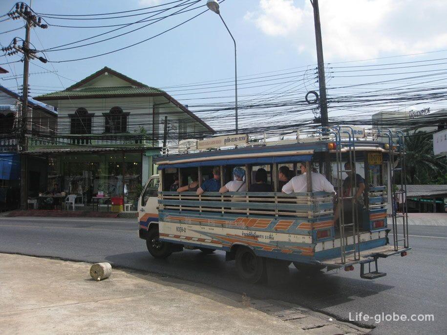 Phuket Buses, Songteo