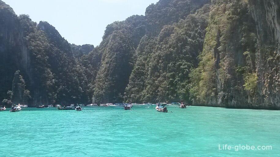 Лагуна Пиле, острова Пхи-Пхи, Таиланд
