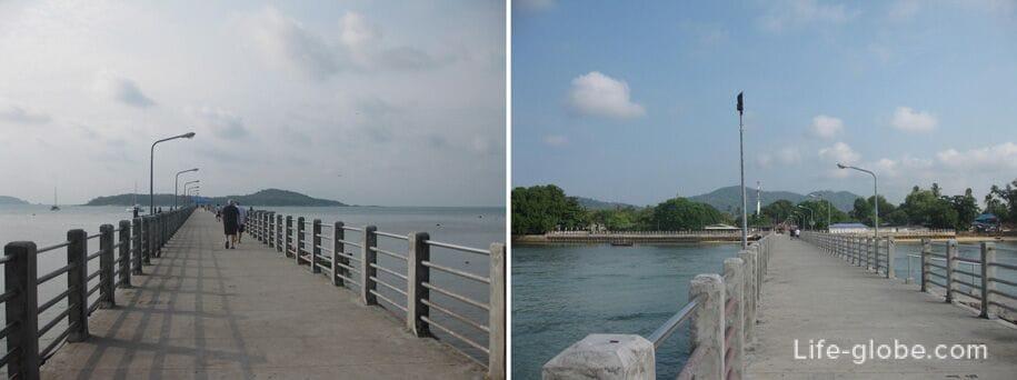 Pier, Rawai Beach