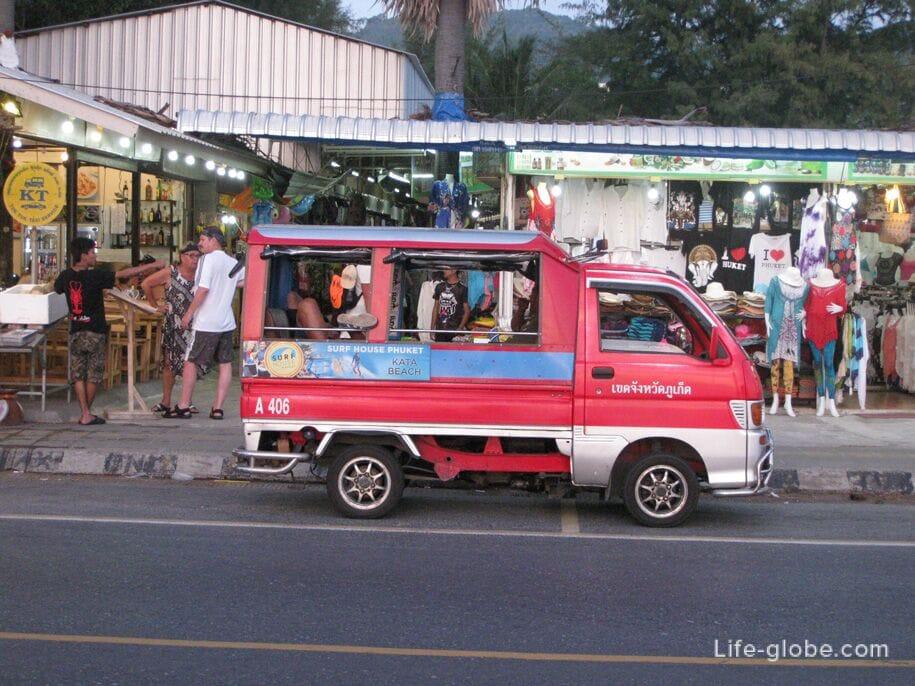 Taxi (tuk-tuk) in Phuket