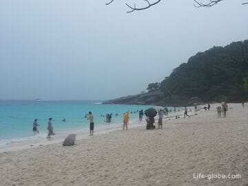 Excursion to the Similan Islands, Thailand
