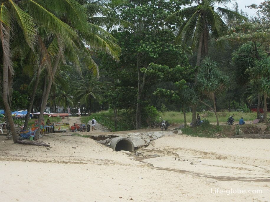 On Surin Beach