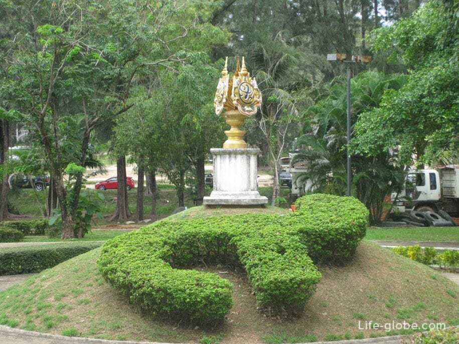 Near the temple, Surin, Phuket