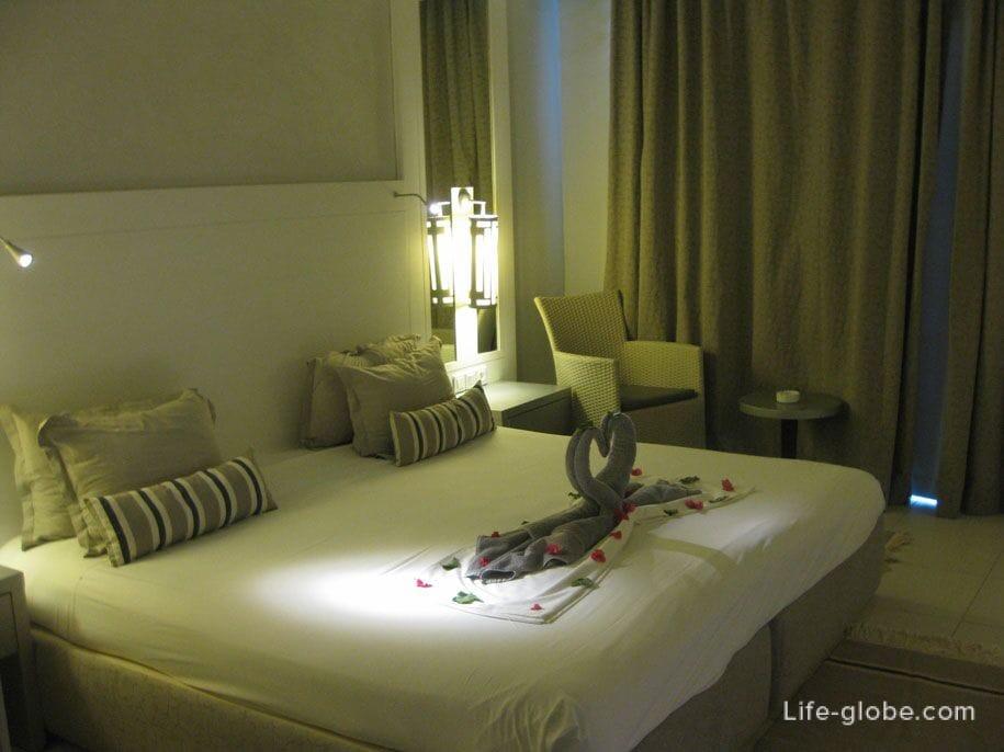 Rooms at the Djerba Plaza Hotel, Tunisia
