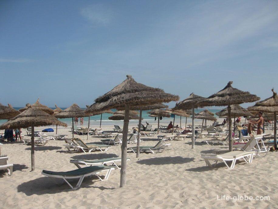 Tunisia beaches, hotel Djerba Plaza