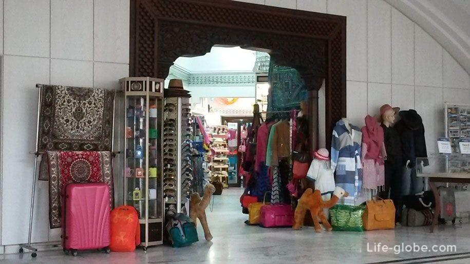 Souvenir shop - shop in the hotel Djerba Plaza, Tunisia