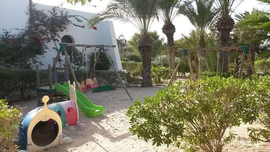 Playground at the hotel Djerba Plaza, Tunisia