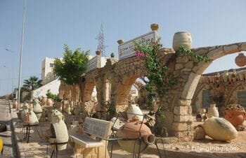 Gellala, a potters village on the island of Djerba