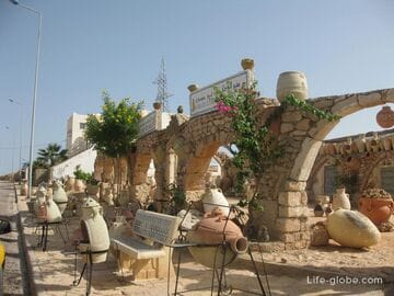 Gellala, a potters village on the island of Djerba
