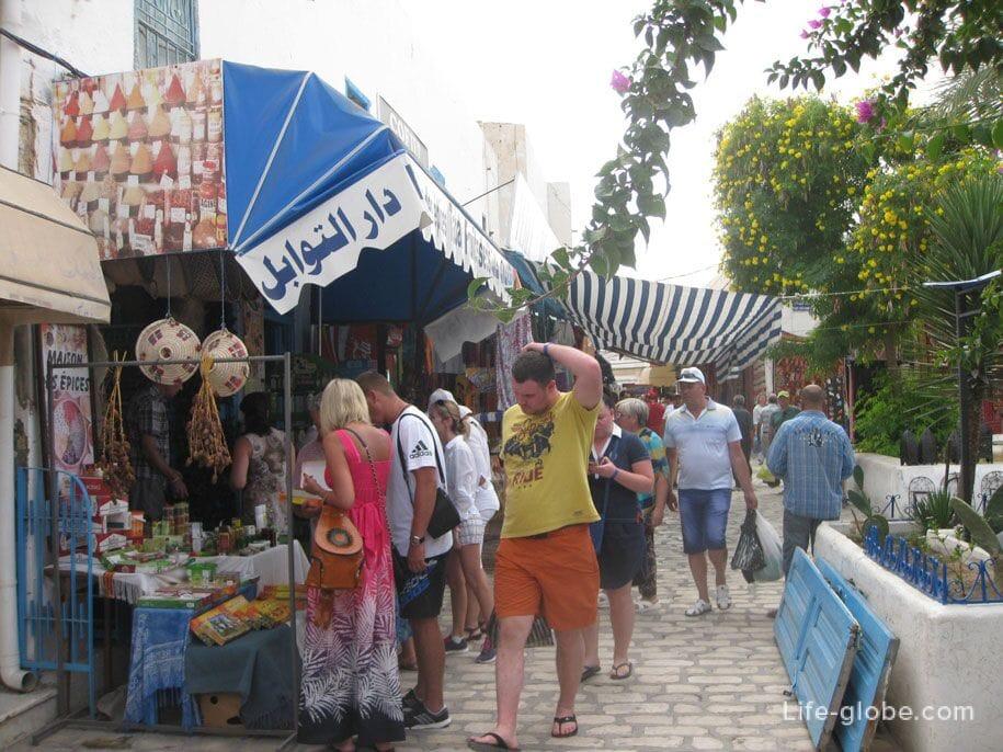 Рынок Хумт-Сука, Джерба, Тунис