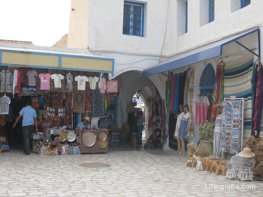 Восточный базар на острове Джерба