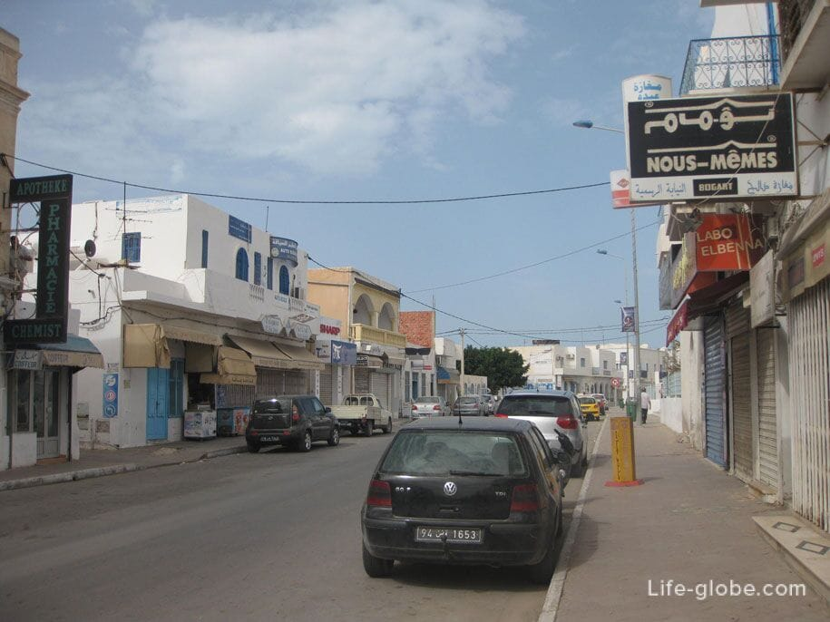 Хумт-Сук, Джерба, Тунис